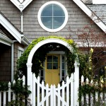 Natec for Victorian Landscape with Round Window