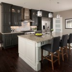 Nba Hardwood Classics for Transitional Kitchen with Dark Wood Floors