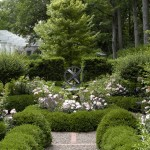 Needham Garden Center for Traditional Landscape with Hedge