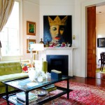 New Orleans Points of Interest for Victorian Living Room with Colorful
