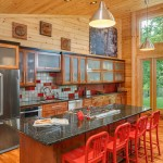 Niblock Homes for Rustic Kitchen with Cabins