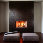 Nicolas De Stael for Modern Living Room with Fireplace