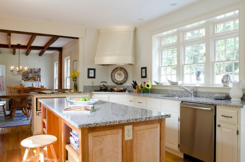 North Conway Nh Outlets for Traditional Kitchen with Outlet in Island
