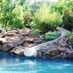 Northport Water for Traditional Pool with Rock