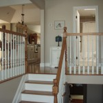 Northport Water for Traditional Spaces with Wood Railing