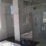Nova Manassas for Contemporary Bathroom with Frameless Shower Doors Manassas