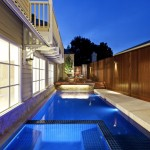 Nps Pool Supply for Contemporary Pool with Teak Furniture