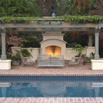 Nps Pool Supply for Traditional Pool with Brick Paving