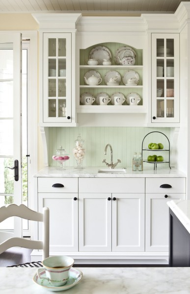 O Leary Paint for Traditional Kitchen with Plates
