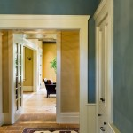 Ocher Color for Traditional Entry with Traditional