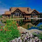 Odyssey House Utah for Rustic Exterior with View