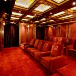 Old Orchard Theater for Traditional Home Theater with Theater Seats