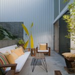 Oldcastle Glass for Midcentury Patio with Renovation