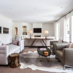 Oly Furniture for Contemporary Living Room with Gray Sofa