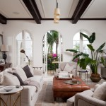 Oly Furniture for Mediterranean Living Room with Tufted Ottoman