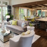 Oly Furniture for Traditional Living Room with White Framed Windows