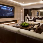 One Seagrove Place for Contemporary Family Room with Recessed Lighting