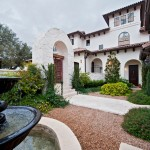 Opal Santa Barbara for Mediterranean Landscape with Fountain