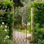 Opal Santa Barbara for Mediterranean Landscape with Iron Gate