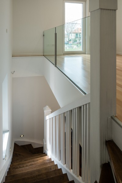 Orec for Contemporary Staircase with House