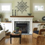 Oregon Decorative Rock for Traditional Living Room with Slipcovered Sofa