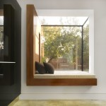 Oriel Window for Contemporary Spaces with Glass Roof