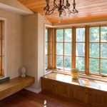 Oriel Window for Mediterranean Hall with Window Seat