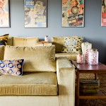 Orland Park Theater for Contemporary Home Theater with Silk Scarf Pillow