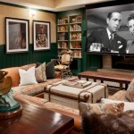 Orland Park Theater for Rustic Home Theater with Native American