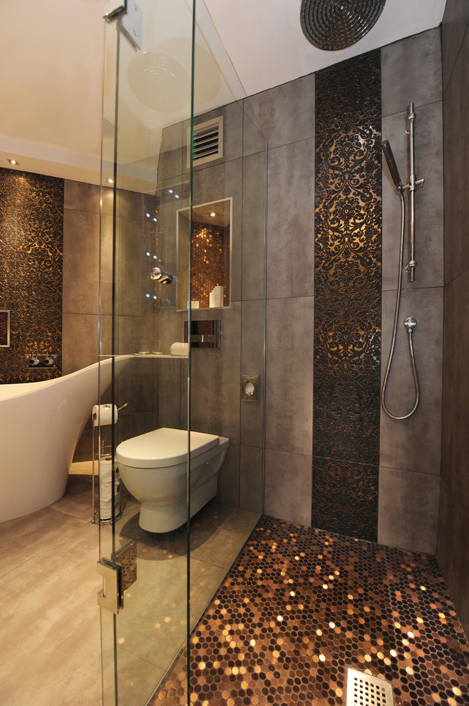 Otte Nyc for Contemporary Bathroom with Mosaic Tiles