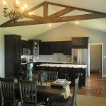 Overstock Louisville for Rustic Kitchen with Shenadoah Mission Oak Espresso Cabinets