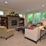 Owens Corning Cultured Stone for Traditional Living Room with Arm Chair