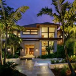 Owens Corning Cultured Stone for Tropical Exterior with Geometric