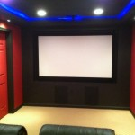 Owings Mills Amc for Contemporary Home Theater with Basement Renovation