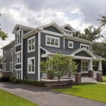 Painting Vinyl Siding for Traditional Exterior with Board and Batten