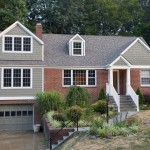 Painting Vinyl Siding for Traditional Exterior with Entry
