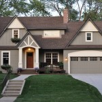 Painting Vinyl Siding for Traditional Exterior with Turf