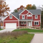 Painting Vinyl Siding for Traditional Exterior with Wood Siding