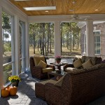 Painting Wicker Furniture for Traditional Porch with Patio Furniture