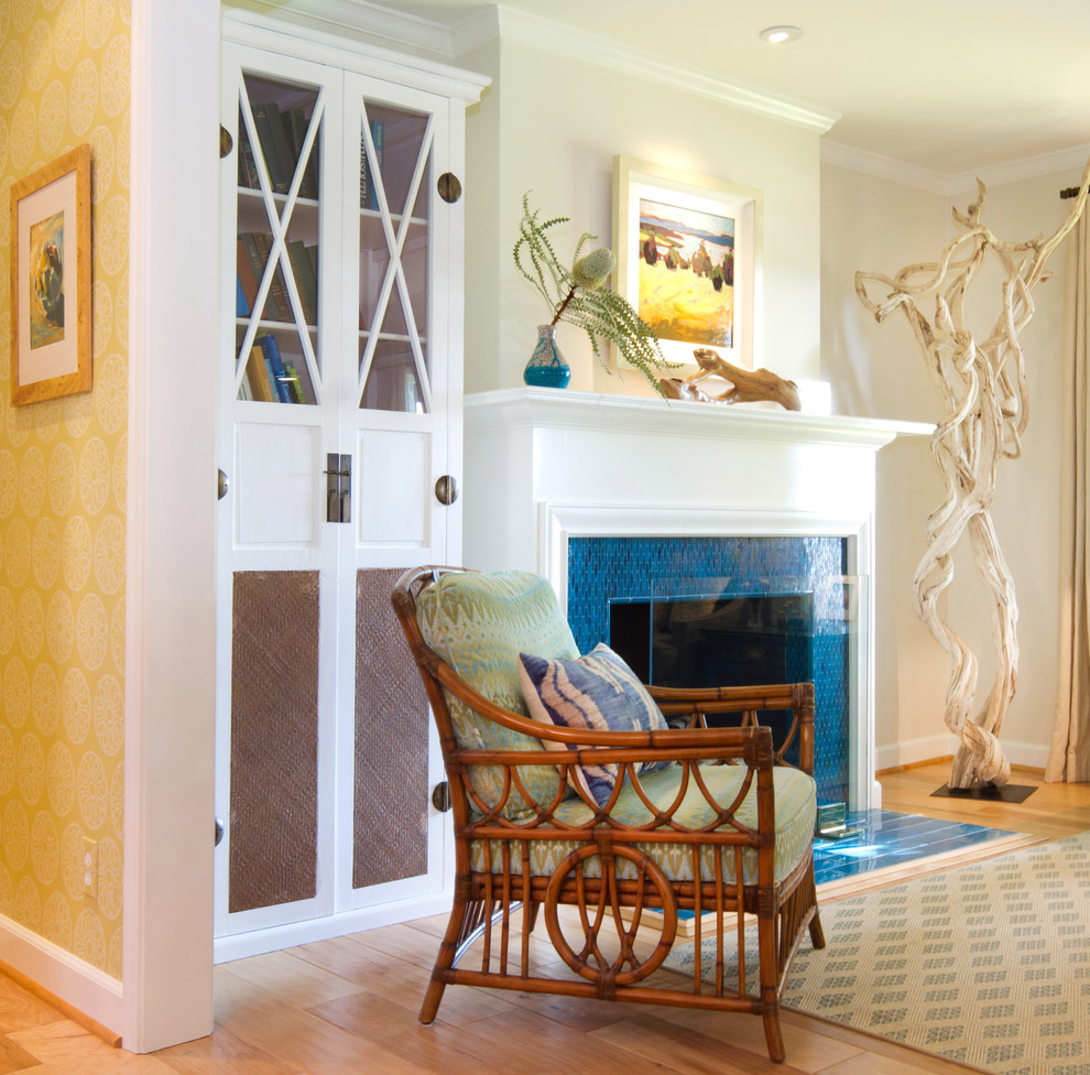Palecek for Beach Style Living Room with Small Living Room