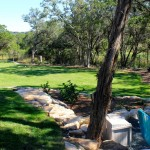 Palisades Zoysia for Contemporary Landscape with Modern Courtyard Design
