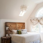 Palladian Window for Eclectic Bedroom with High Ceiling