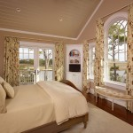 Palladian Window for Traditional Bedroom with Palladian Window
