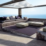 Paola Lenti for Beach Style Patio with Outdoor Cushions
