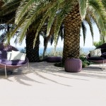Paola Lenti for Beach Style Patio with View