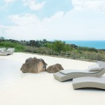 Paola Lenti for Beach Style Pool with Pool Furniture