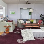 Paola Lenti for Contemporary Living Room with Decorative Pillows