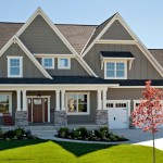 Parade of Homes Mn for Traditional Exterior with Three Car Garage