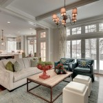 Parade of Homes Mn for Traditional Living Room with Cushions