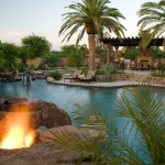 Paradise Pools and Spas for Tropical Pool with Jacuzzi